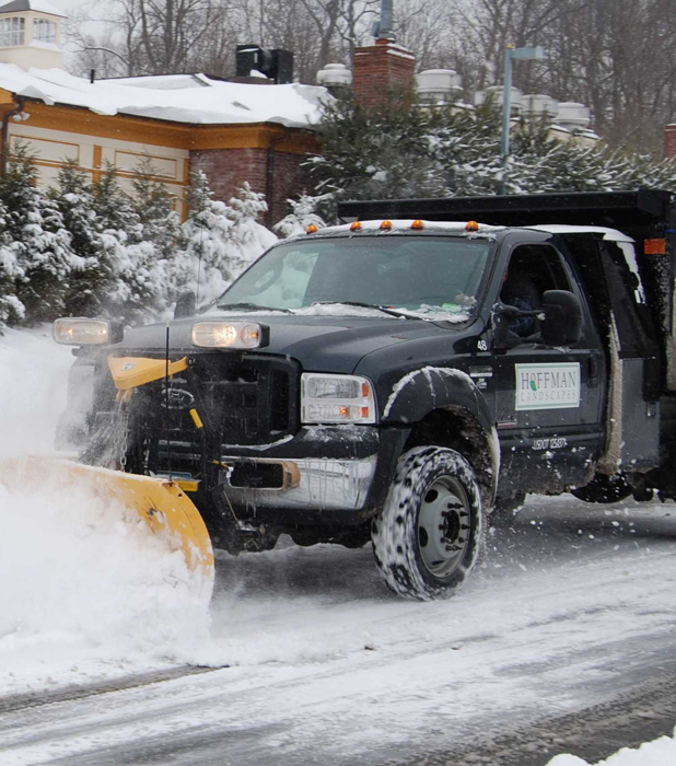 Hoffman Snow Plowing has the experience, expertise and equipment to ensure a quick and efficient clean up of even the heaviest of snows